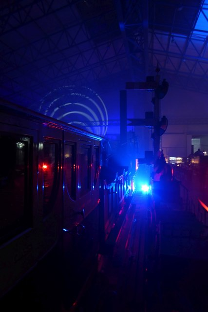 Illuminating York 2016 - Old carriages