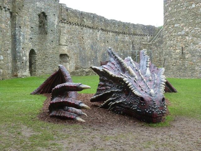 Kidwelly Castle's Dragon