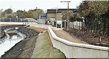 J3674 : Connswater works, Belfast - October 2016(8) by Albert Bridge