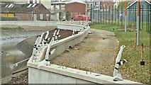 J3674 : Connswater works, Belfast - October 2016(10) by Albert Bridge