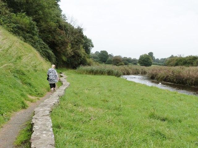Riverside walk, Kidwelly, Carmarthenshire