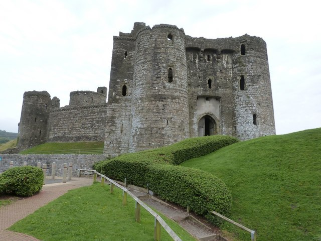 Kidwelly Castle, Kidwelly, Carmarthenshire