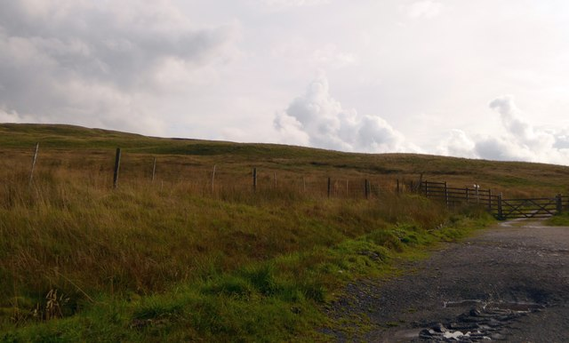 Moorland on Crosshills Wold and the Pennine Bridleway