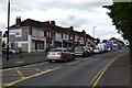 SP0994 : Shops and flats on Chester Road near Beggar's Bush, New Oscott, Birmingham by Robin Stott