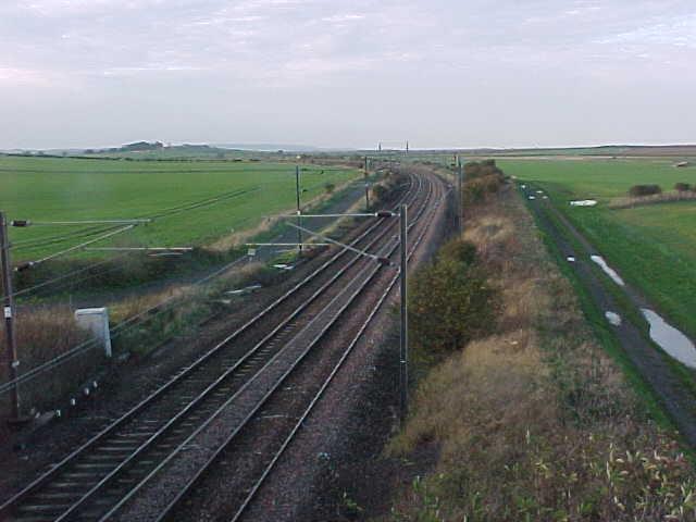 East Coast main line railway