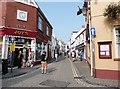 SN1300 : Upper Frog Street, Tenby by Derek Voller