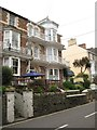 SS5747 : Channel Vista Guesthouse, Combe Martin by Philip Halling