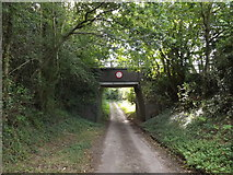 TG0723 : Brick Kiln Lane & Marriott's Way Bridge by Adrian Cable