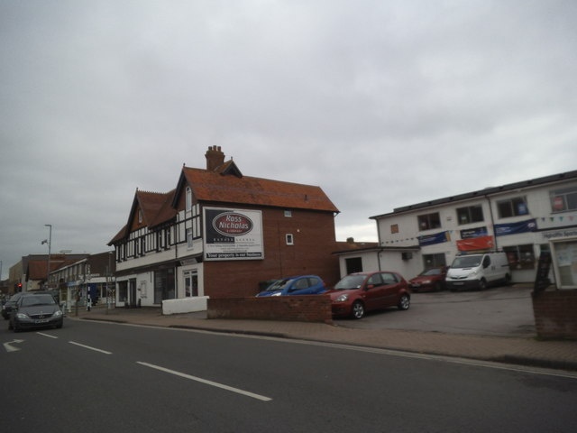 Lymington Road Scene