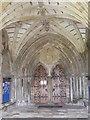 SZ1592 : Priory Porch by Gordon Griffiths