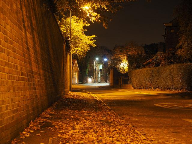 Magdalengate at Night