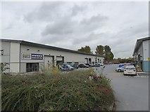 SX9289 : Warehouses, Silverton Road, Marsh Barton, Exeter by David Smith