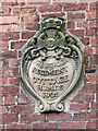 NY3957 : Plaque - Border Regiment Cottage Homes by Rose and Trev Clough
