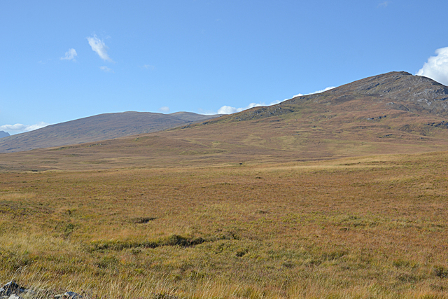 Moorland north of Loch a' Bhraoin