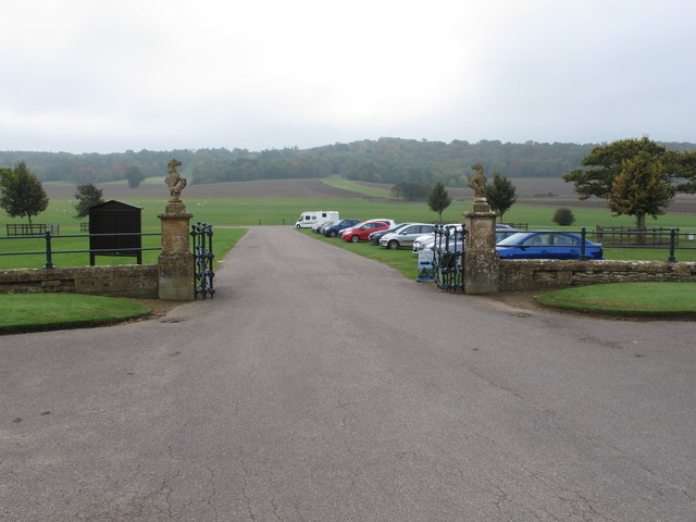 View to Old Park from Sherborne Castle