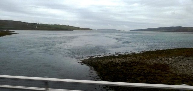 Bridging point across the Kyle of Tongue