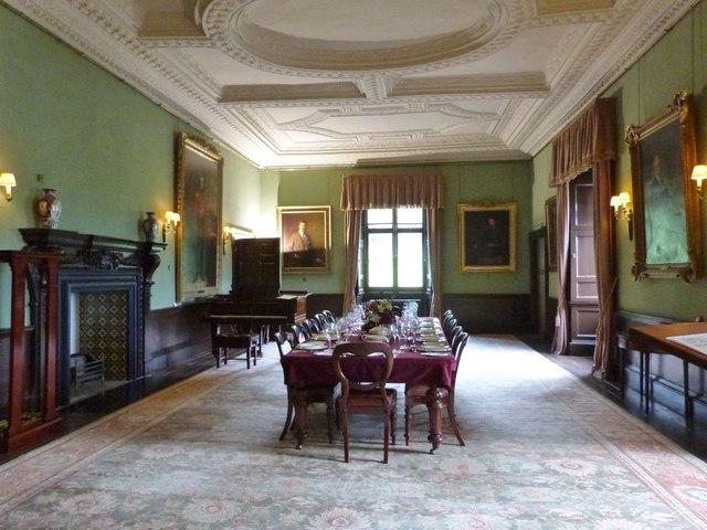 Dining Room at Newton House, near Llandeilo
