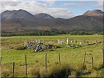 NH0362 : Kinlochewe graveyard, at Incheril by Nigel Brown