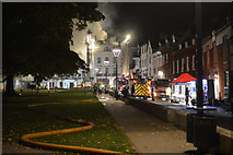 SX9292 : Exeter : Cathedral Close by Lewis Clarke