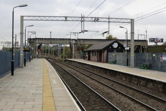 Bescot Stadium railway station
