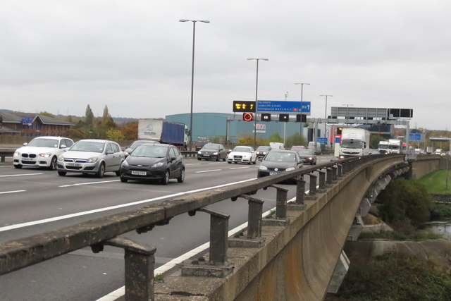 The M6 at a quiet time