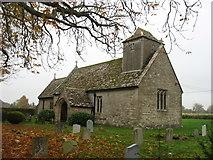 SU0692 : All Saints church, Leigh by David Purchase