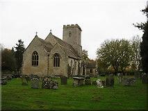 SU0494 : Holy Cross church, Ashton Keynes by David Purchase