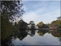 SJ7744 : Madeley Pool and Mill by Jonathan Hutchins