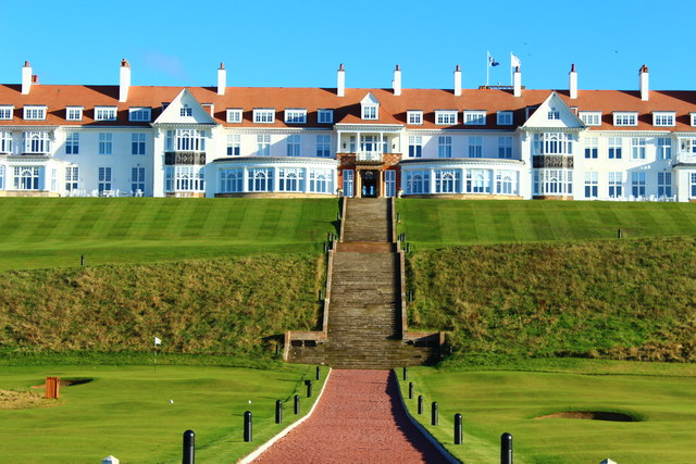 World Famous Trump Turnberry Hotel