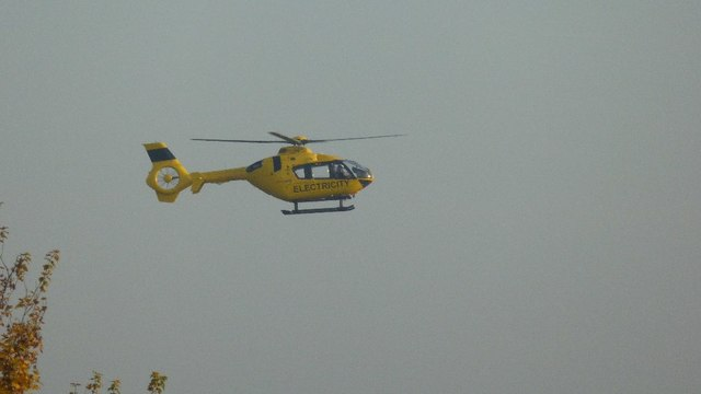 Electricity helicopter