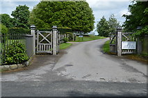 TQ5244 : Entrance to Penshurst Park (Private) by N Chadwick