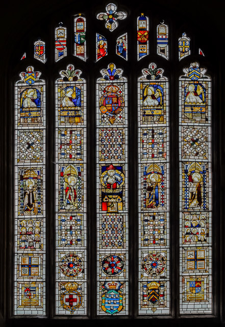 East Window, St Martin's church, Stamford