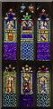 TF0306 : Window s.IV, St Martin's church, Stamford by Julian P Guffogg