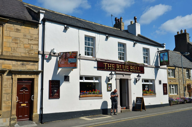 The Blue Bell pub, Corbridge