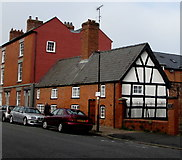 SO5139 : Grade II listed number 6, Castle Street, Hereford by Jaggery
