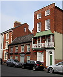 SO5139 : Four storey house, Castle Street, Hereford by Jaggery