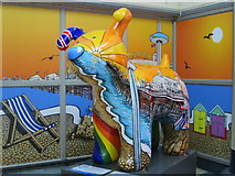 TQ2878 : Snowdogs by the sea, London Victoria Station by Oast House Archive