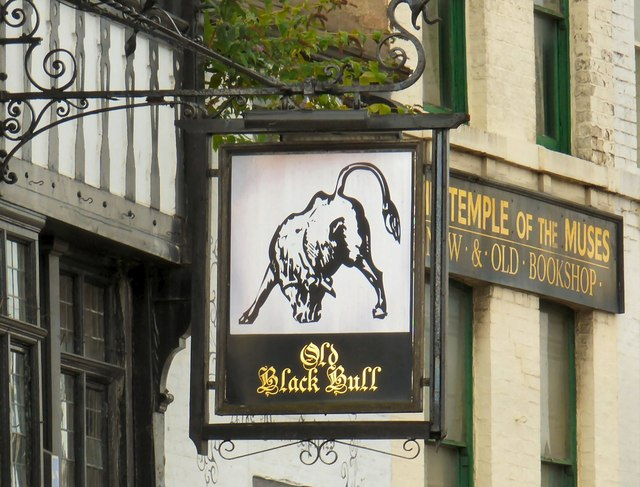 Old Black Bull & Temple of the Muses