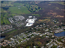 NS5574 : Milngavie from the air by Thomas Nugent