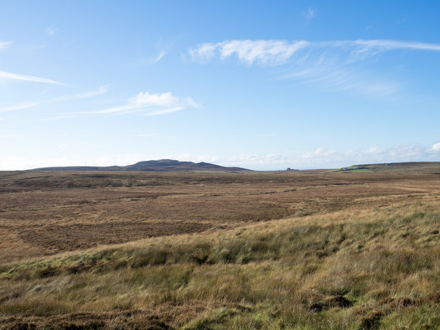 Moorland south of Maol an Tairbh