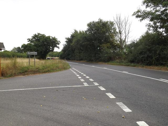 B1022 Maldon Road, Messing