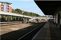 SX9193 : Exeter Central Station by Dr Neil Clifton