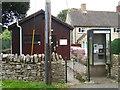SP3917 : Stonesfield Telephone Exchange, Oxon (1) by David Hillas