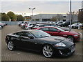 TL4859 : Jaguar XKR at Marshalls by Hugh Venables