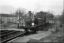 TQ4023 : Single coach train, Sheffield Park, 1967 by Robin Webster