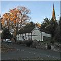 SK4826 : Kegworth: a November morning on Nottingham Road by John Sutton