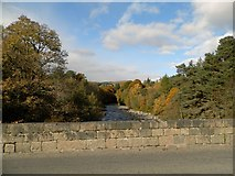 NN8765 : River Tilt at Blair Atholl by Douglas Nelson