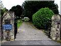 ST3090 : Entrance to St Mary's churchyard, Malpas, Newport by Jaggery