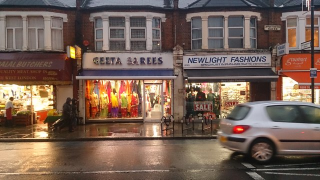 Shops on Upper Tooting Road SW17