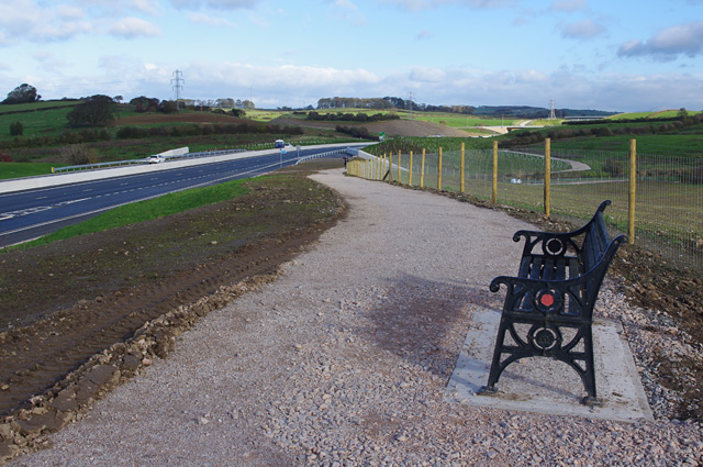 The Bay Gateway - top of the drumlin